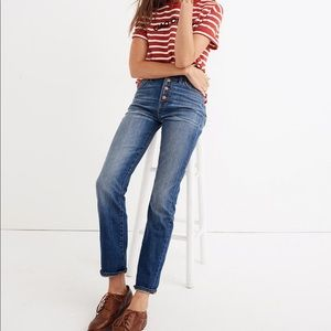 madewell perfect vintage jean comfort stretch